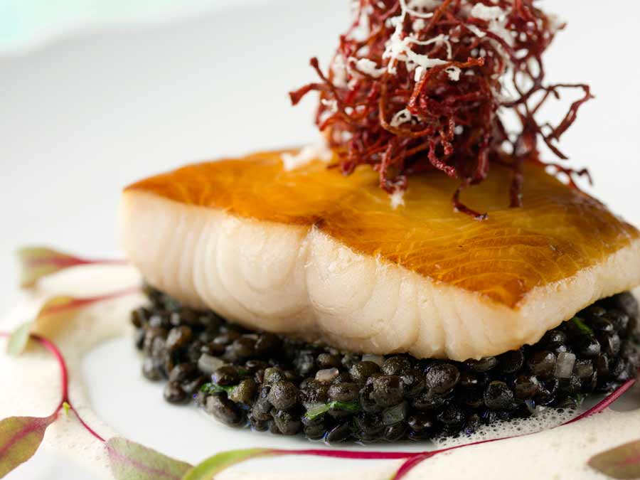 Blue Water Cafe + Raw Bar Image Gallery | Smoked Black Cod