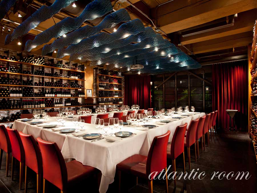 Blue Water Cafe + Raw Bar Rooms | Atlantic Room